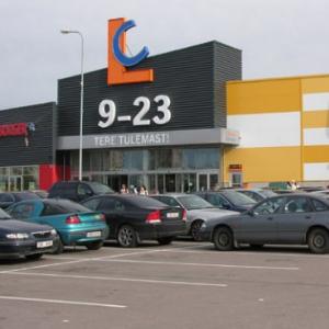 Торговый центр Lasnamäe Centrum. Автор фото: Vitali Faktulin.