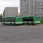 Автобусы на улице Юмера. Автор фото: Vitali Faktulin.