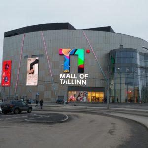Таллинский торговый центр T1. Автор фото: Виталий Фактулин.