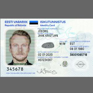 ID-карта нового образца. Фото: politsei.ee.
