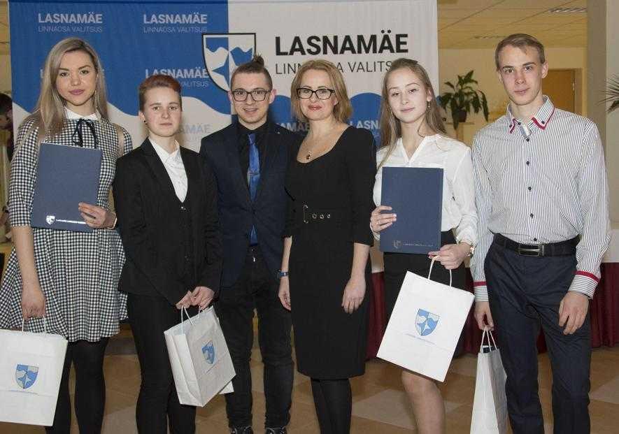 В Ласнамяэ наградили отличившихся школьников. Автор фото: Управа Ласнамяэ.