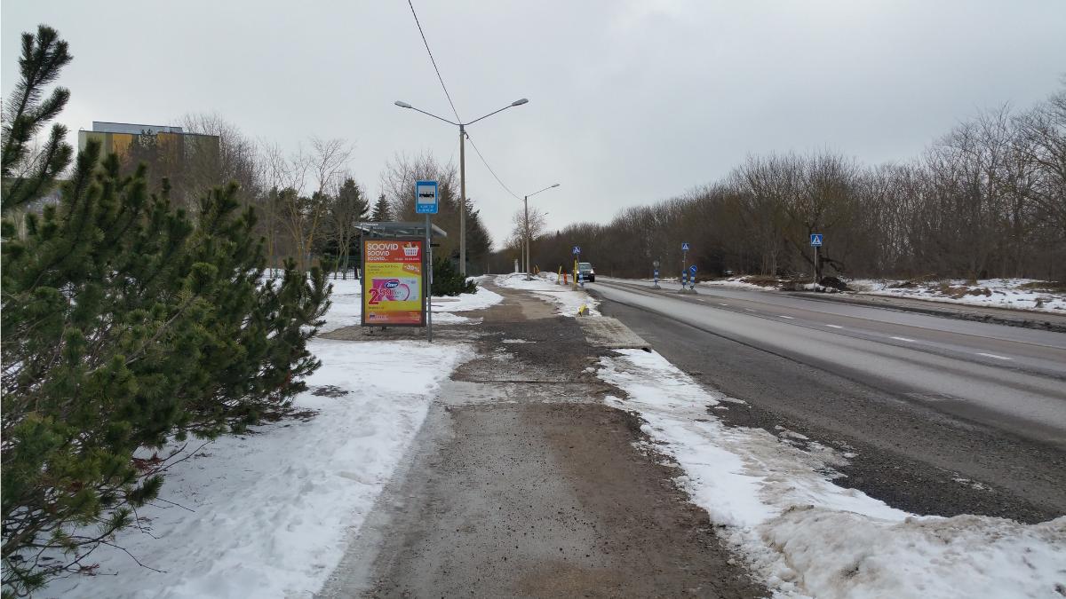 Остановка Kose tee. Автор фото: Vitali Faktulin.