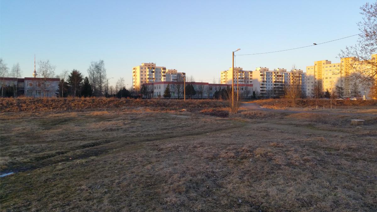 Так выглядит будущий парк Прийсле на сегодняшний день. Автор фото: Vitali Faktulin.