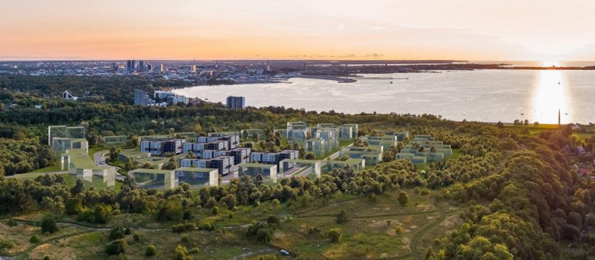 3D фотография плана застройки района Лахекалда. Автор: Merko