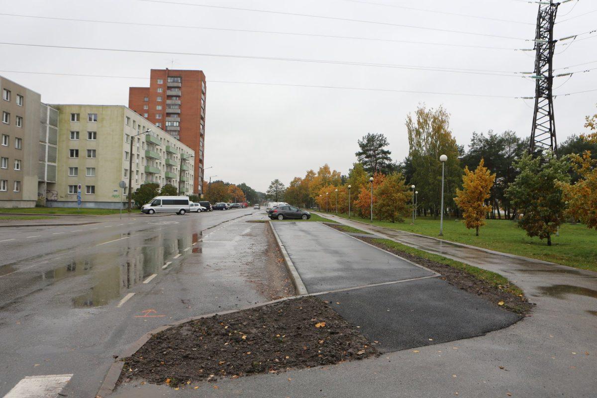 Будущие автобусные остановки новой линии. Фото: Управа Пыхья-Таллина