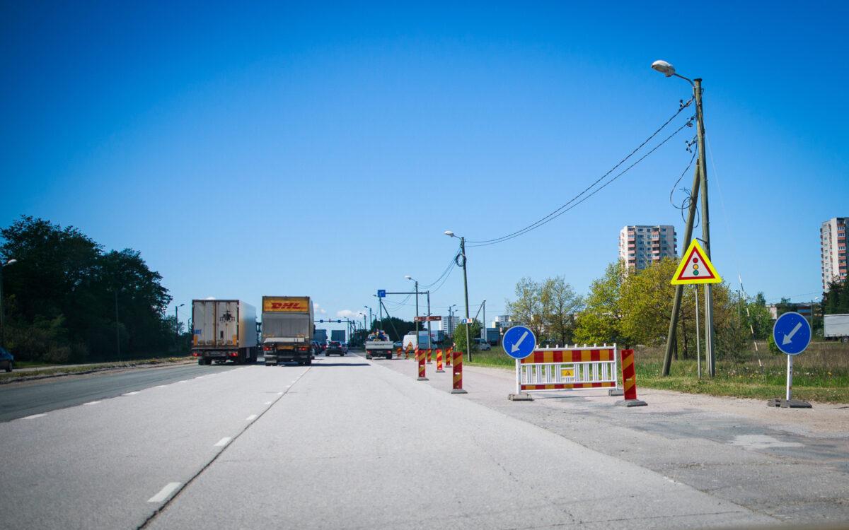 Дорожные работы на развязке Вяо существенно повлияют на организацию дорожного движения. Источник фото: материалы для прессы.