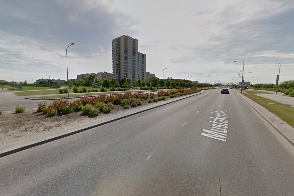 Новый пешеходный переход соединит парки Тондираба и Кивила. Источник фото: скриншот Google Maps.